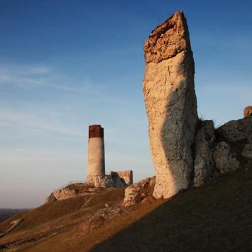 Ruiny zamku w Olsztynie, Anna Piernikarczyk