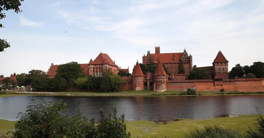 Zamek Krzyżacki w Malborku - zdjęcie