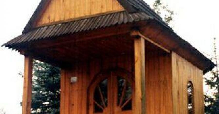 Kapliczka w Przecławiu - zdjęcie