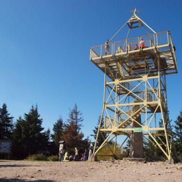 Wieża widokowa na Baraniej Górze, Tadeusz Walkowicz