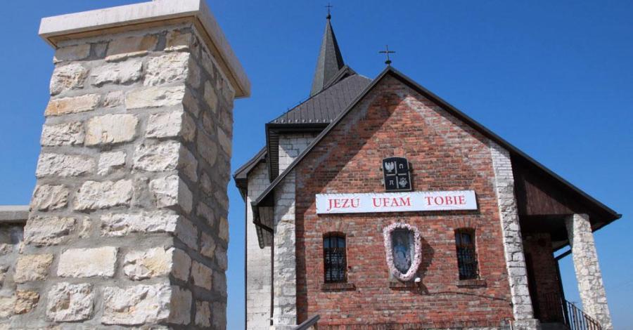 Romański kościół w Gieble - zdjęcie