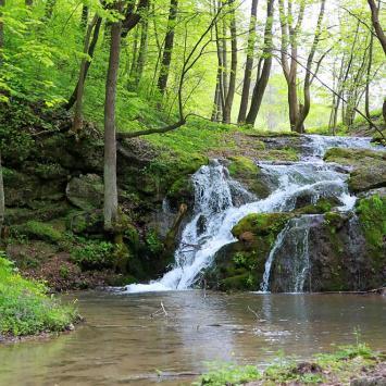 Wodospad Szum na Jurze