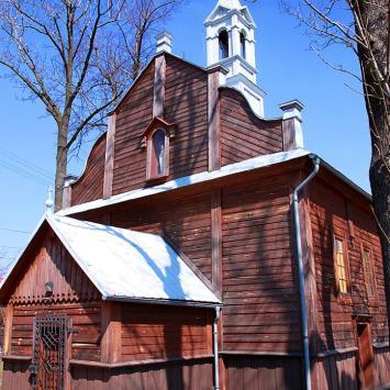 Drewniany kościół w Wolbromiu