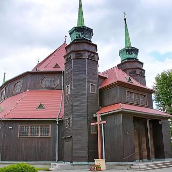 Drewniany kościół w Zabrzu