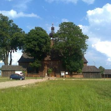 Kościół Na Pólku w Bralinie