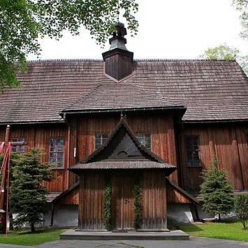 Drewniany kościół w Modlnicy