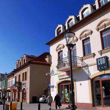 Rynek w Olkuszu - zdjęcie