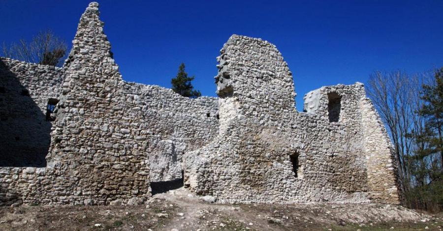 Ruiny zamku w Bydlinie, Anna Piernikarczyk