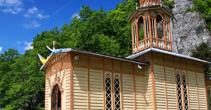 Kaplica na wodzie w Ojcowie - zdjęcie