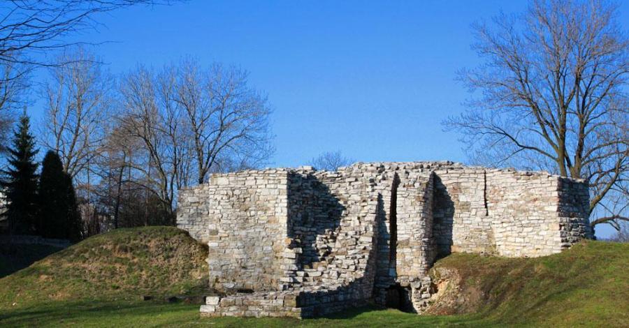 Zamek w Sławkowie - zdjęcie