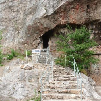 Jaskinia Odkrywców w Kielcach, mokunka