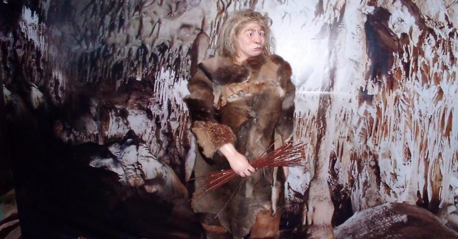 Centrum Neandertalczyka w Chęcinach, mokunka