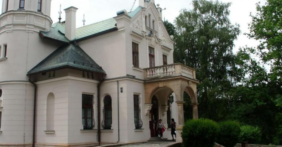 Dworek Sienkiewicza - Oblęgorek, mokunka