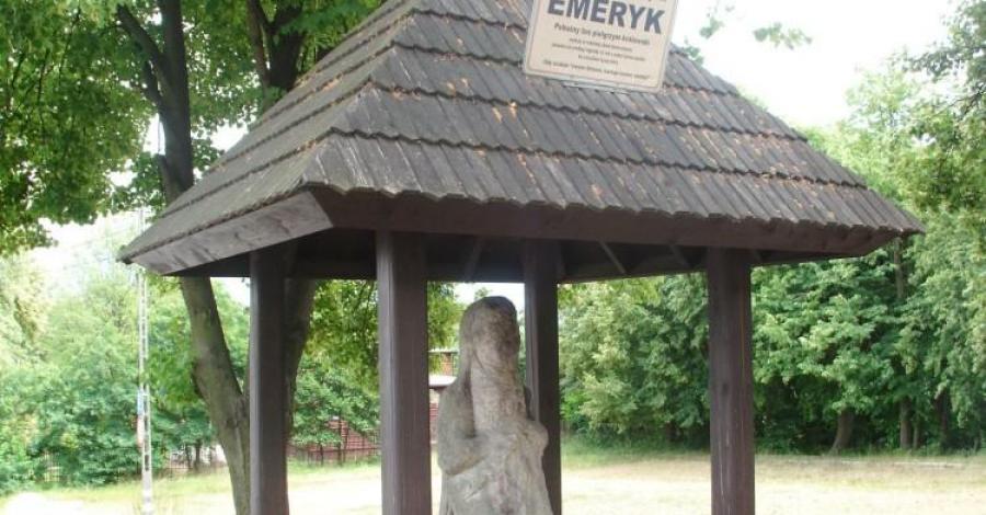 Kamienny Pielgrzym w Górach Świętokrzyskich - zdjęcie