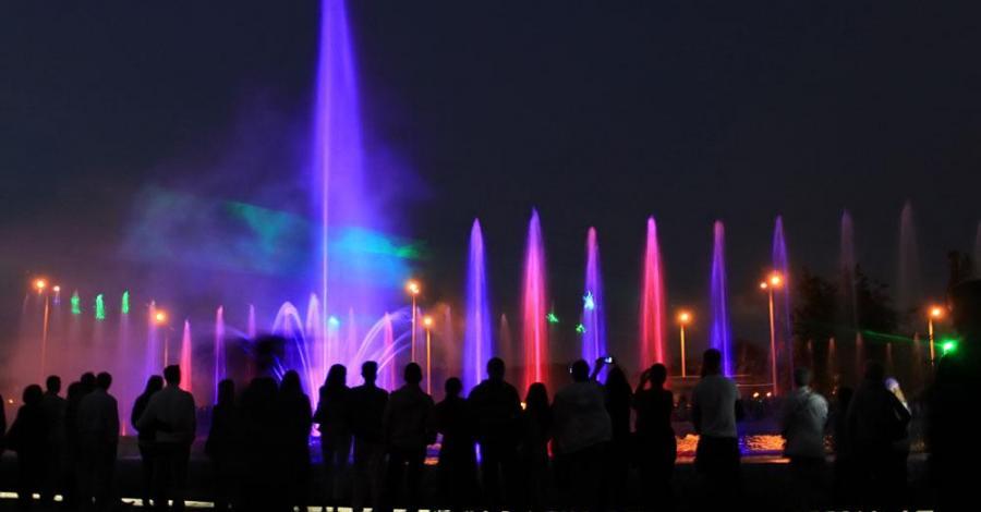 Multimedialny Park Fontann w Warszawie - zdjęcie
