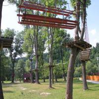 Park Linowy w Milówce