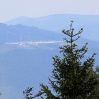 Widok z Magurki na Górę Żar