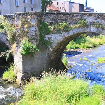 Most gotycki w Lądku Zdroju