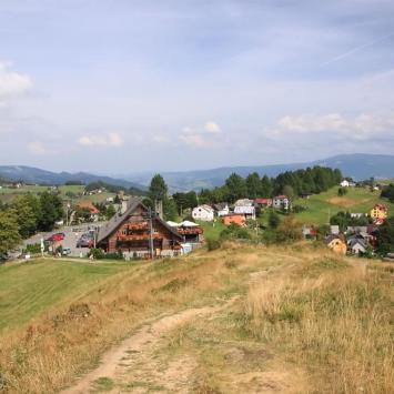 Ochodzita w Beskidzie Śląskim