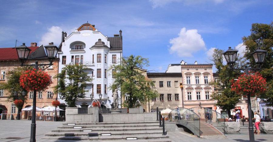 Rynek w Bielsku-Białej - zdjęcie