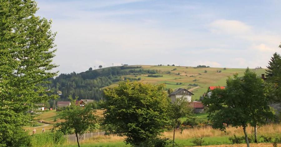 Złoty Groń w Beskidzie Śląskim - zdjęcie