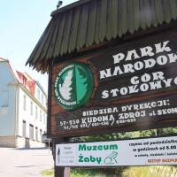 Siedziba Parku Narodowego Gór Stołowych
