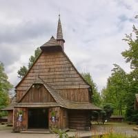Kościółek Św. Michała w Katowicach w Parku Kościuszki