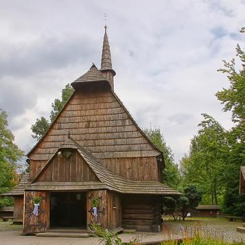 Katowice drewniany kościół