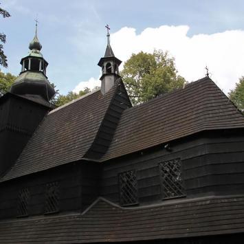 Szlak Architektury Drewnianej - kościół Św. Barbary w Bielsku-Białej