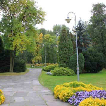 Park Kościuszki w Katowicach