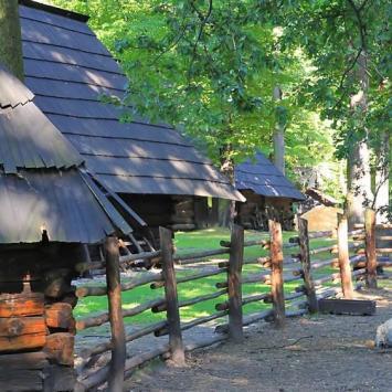 Szlak Architektury Drewnianej - Skansen w Pszczynie