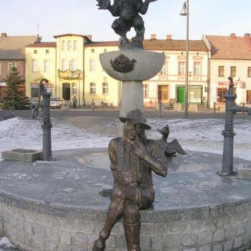 Rzeźby Utopców w Bieruniu