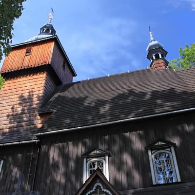 Drewniany kościół w Starej Wsi