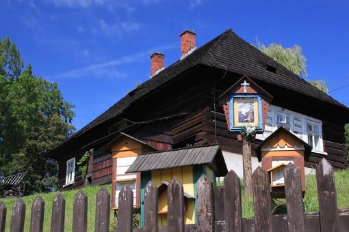 Stara Wieś - zabytkowa szkółka parafialna
