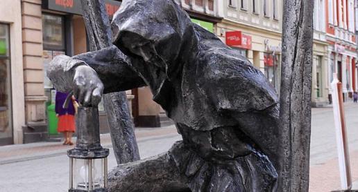 Gwarkowie na ulicach Tarnowskich Gór - zdjęcie