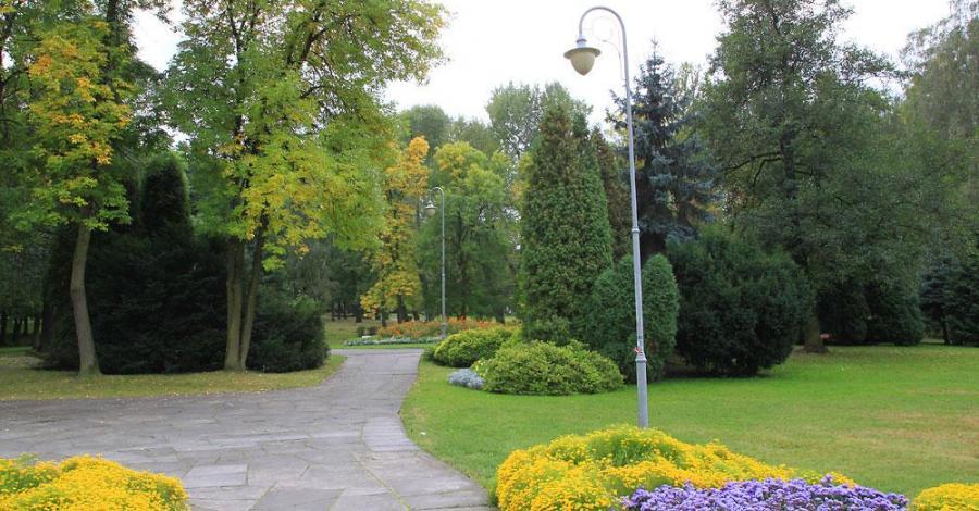 Park Kościuszki w Katowicach - zdjęcie