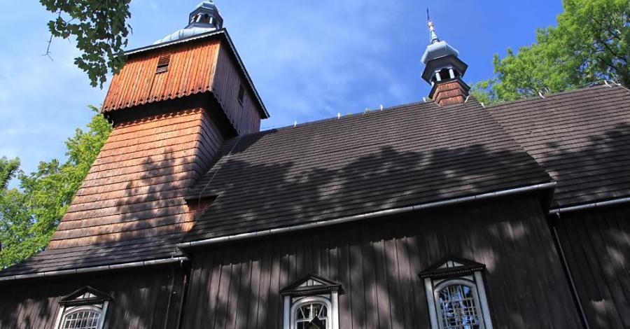 Drewniany kościół w Starej Wsi - zdjęcie