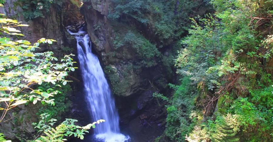 Wodospad Wilczki - zdjęcie