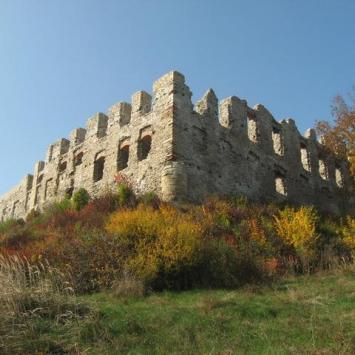 Złota Polska Jesień  i trochę historii w granicach Jurajskiego Parku Narodowego
