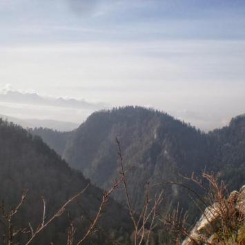 Widoki na  Tatry z Sokolicy, DoRi