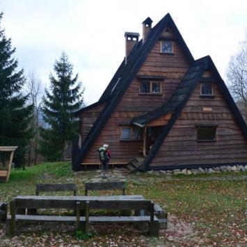 Chata Socjologa w Bieszczadach