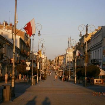 Deptak w Kielcach - zdjęcie