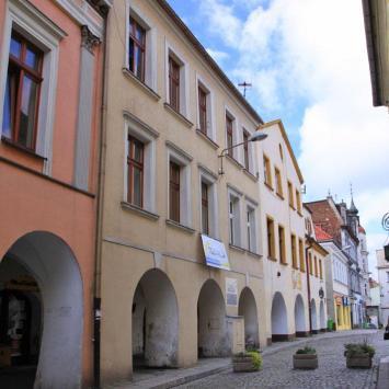 Domy podcieniowe w Tarnowskich Górach