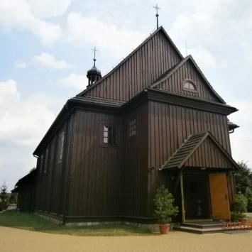 Drewniany kościół w Jeruzalu