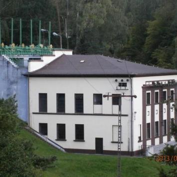 Elektrownia wodna Strzegomino w Konradowie