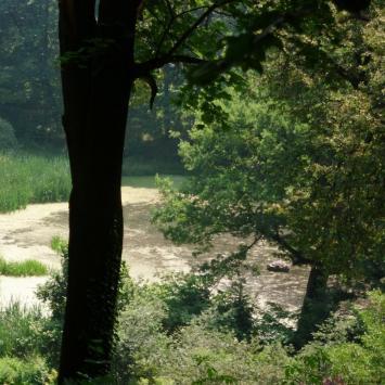 Jezioro Kociołek w Marcinkowie