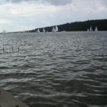 Jezioro Szymoneckie na Mazurach