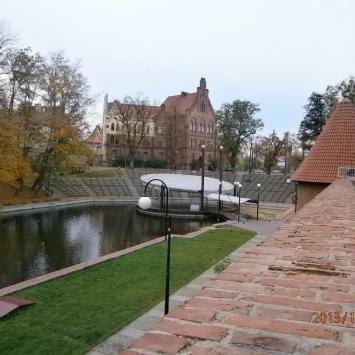 Mury miejskie w Braniewie