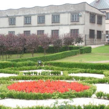 Ogród przy Muzeum w Kielcach