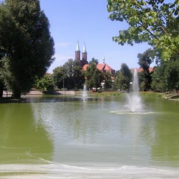 Park Miejski w Legnicy